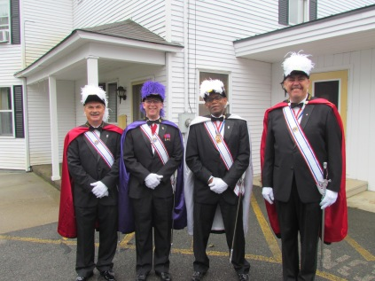 Members of the Greenfield, MA Knights of Columbus #133