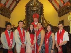 Thanks to Bishop Rozanski