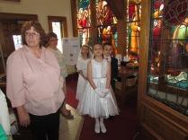 Anxiously Awaiting Mass to Begin